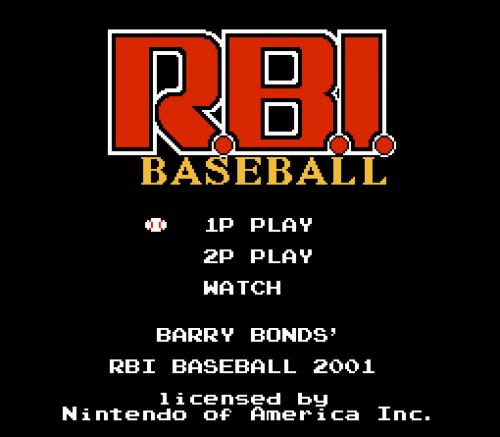 Screenshot for RBI Baseball 2001