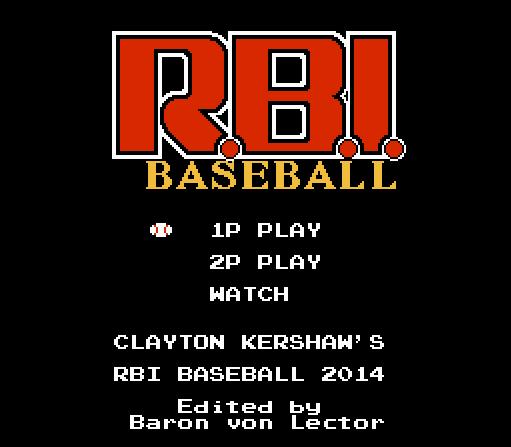 RBI Baseball 2014