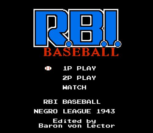 Screenshot for RBI Negro League Baseball 1943