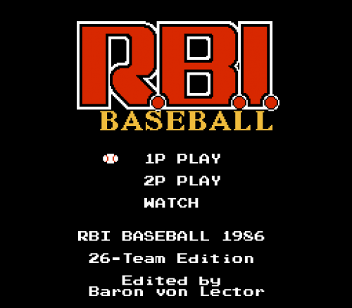 Screenshot for RBI 1986 - 30 Teams