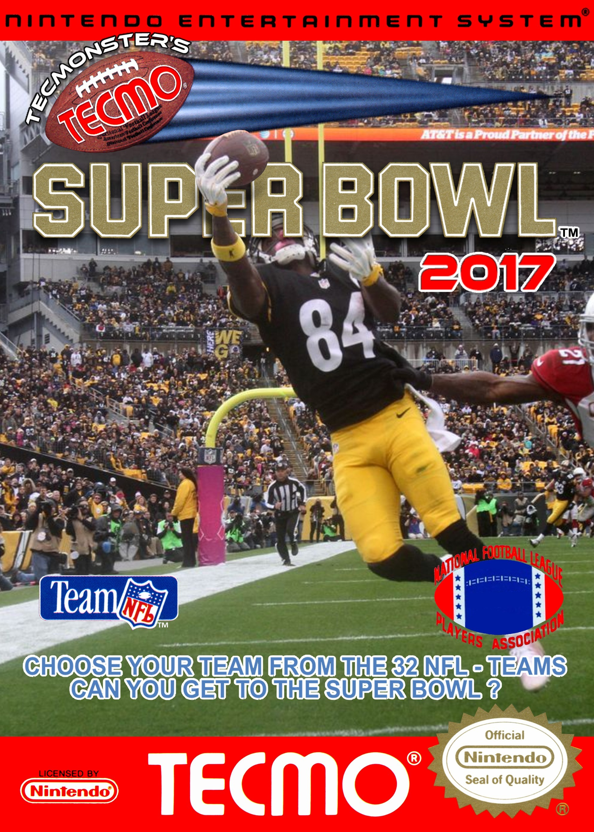 Tecmonster's Tecmo Super Bowl 2017