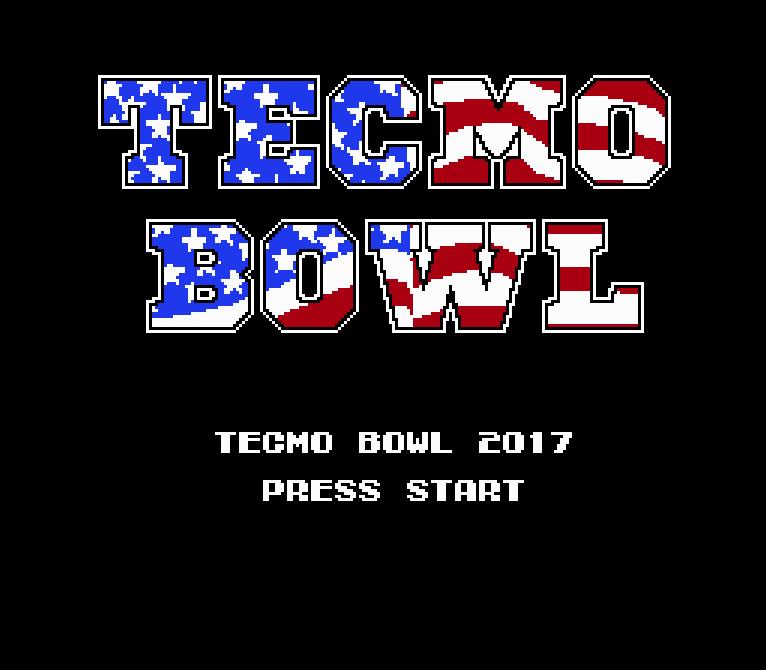 Tecmo Bowl 2017