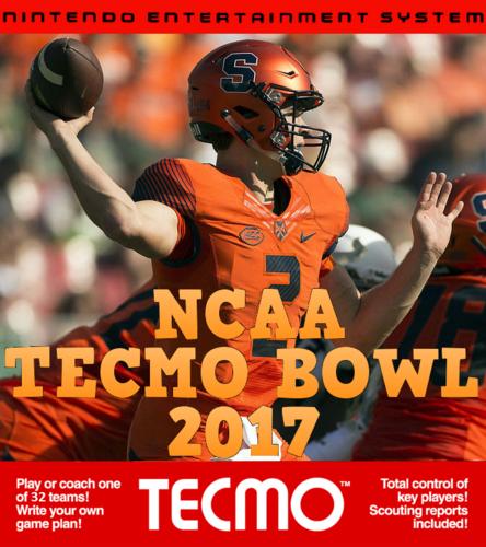 Screenshot for NCAA Tecmo Bowl 2017