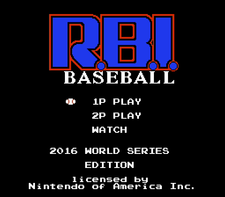 RBI: 2016 World Series