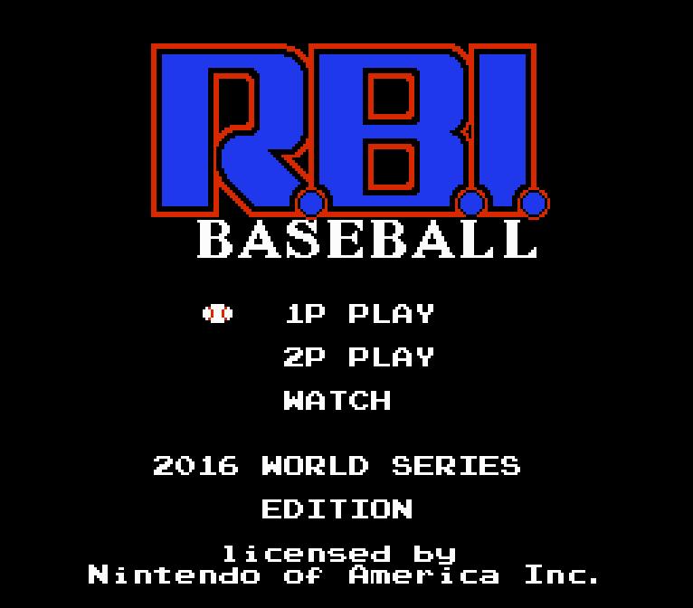 RBI: 2016 World Series