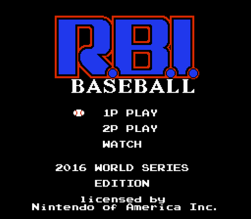 Screenshot for RBI: 2016 World Series