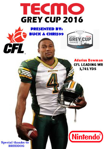 Screenshot for Tecmo Grey Cup 2016