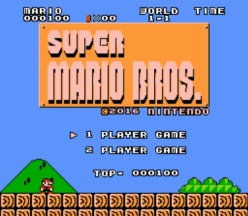 Screenshot for Super Mario 2016