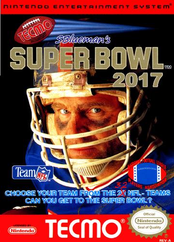 SBlueman's Tecmo Super Bowl 2017