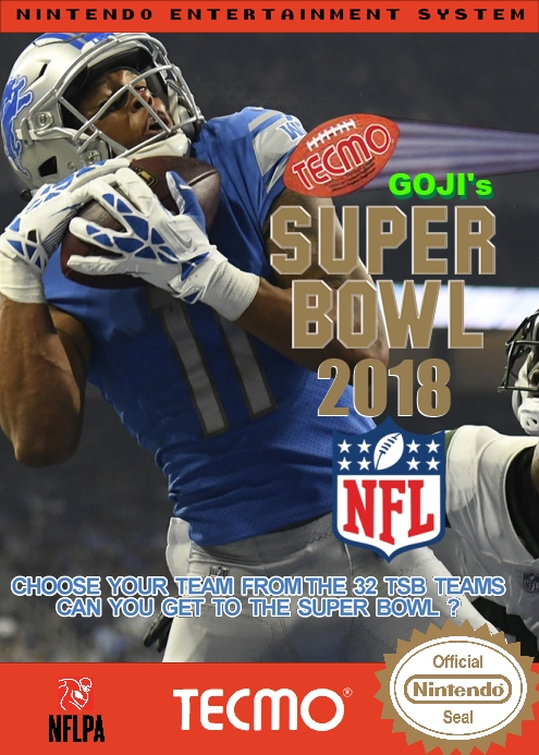 Goji's Tecmo Super Bowl NFL 2018 (10.8.6)