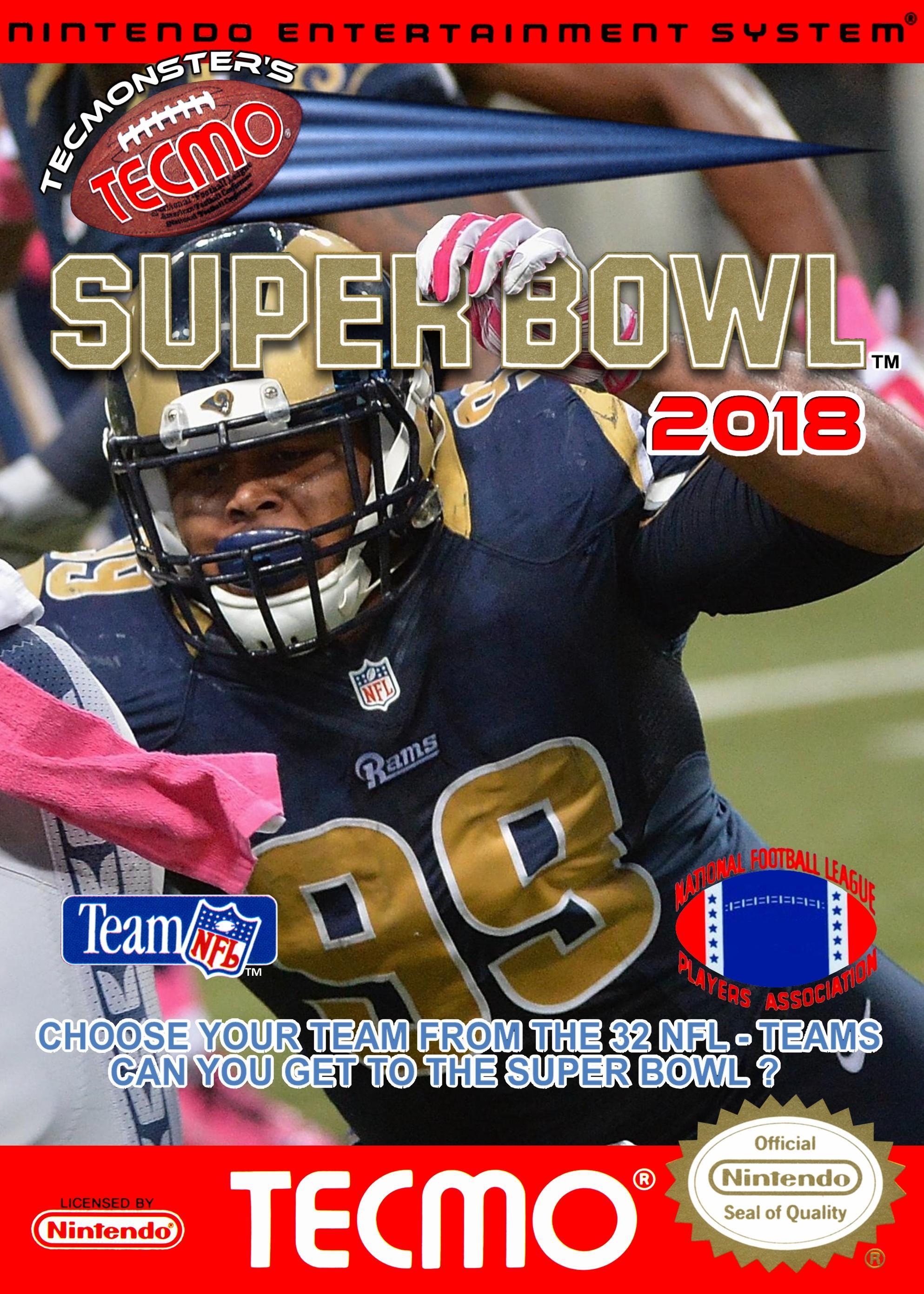 Tecmonster's Tecmo Super Bowl 2018