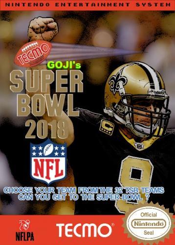 Goji's Tecmo Super Bowl NFL 2018 (12.8)