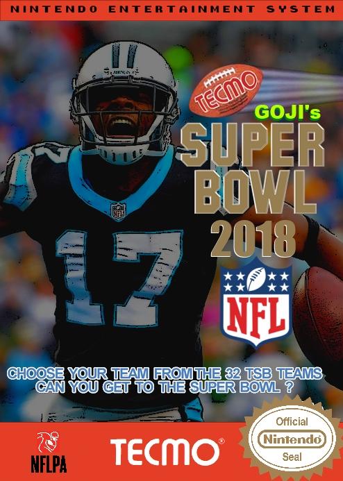Goji's Tecmo Super Bowl NFL 2018 (Week 15 Version 2.0)