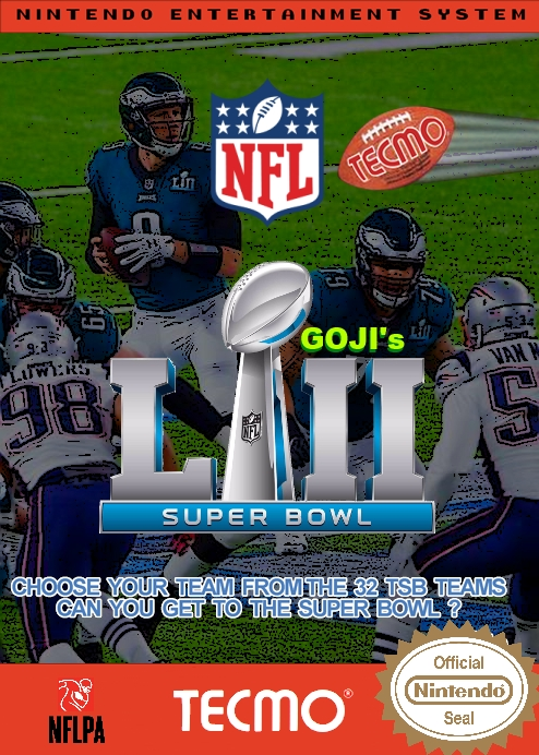 Goji's NFL Tecmo Super Bowl LII (2.4) +