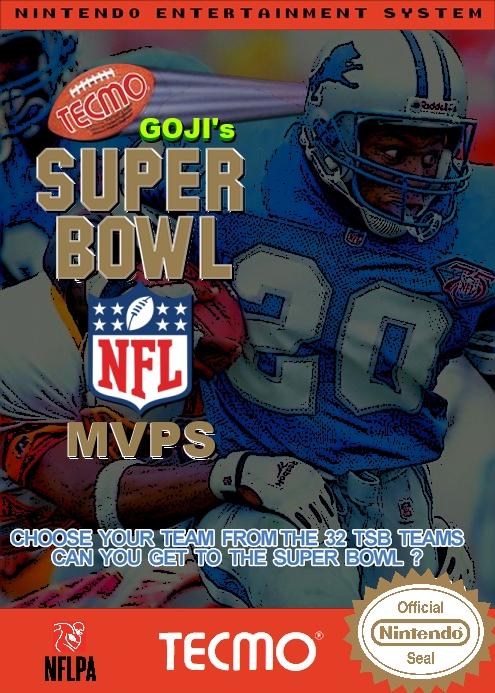 Goji's Tecmo Super Bowl NFL MVPS (3.2)