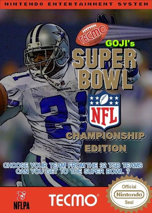 Goji's Tecmo Super Bowl NFL Championship Edition (3.0)