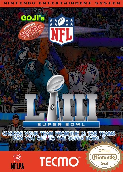 Goji's NFL Tecmo Super Bowl LIII (BETA 1.1)