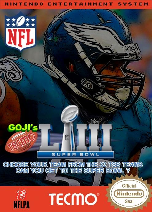 Goji's NFL Tecmo Super Bowl LIII (BETA 2.0)