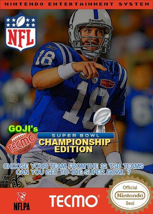 Goji's Tecmo Super Bowl NFL Championship Edition (4.0)