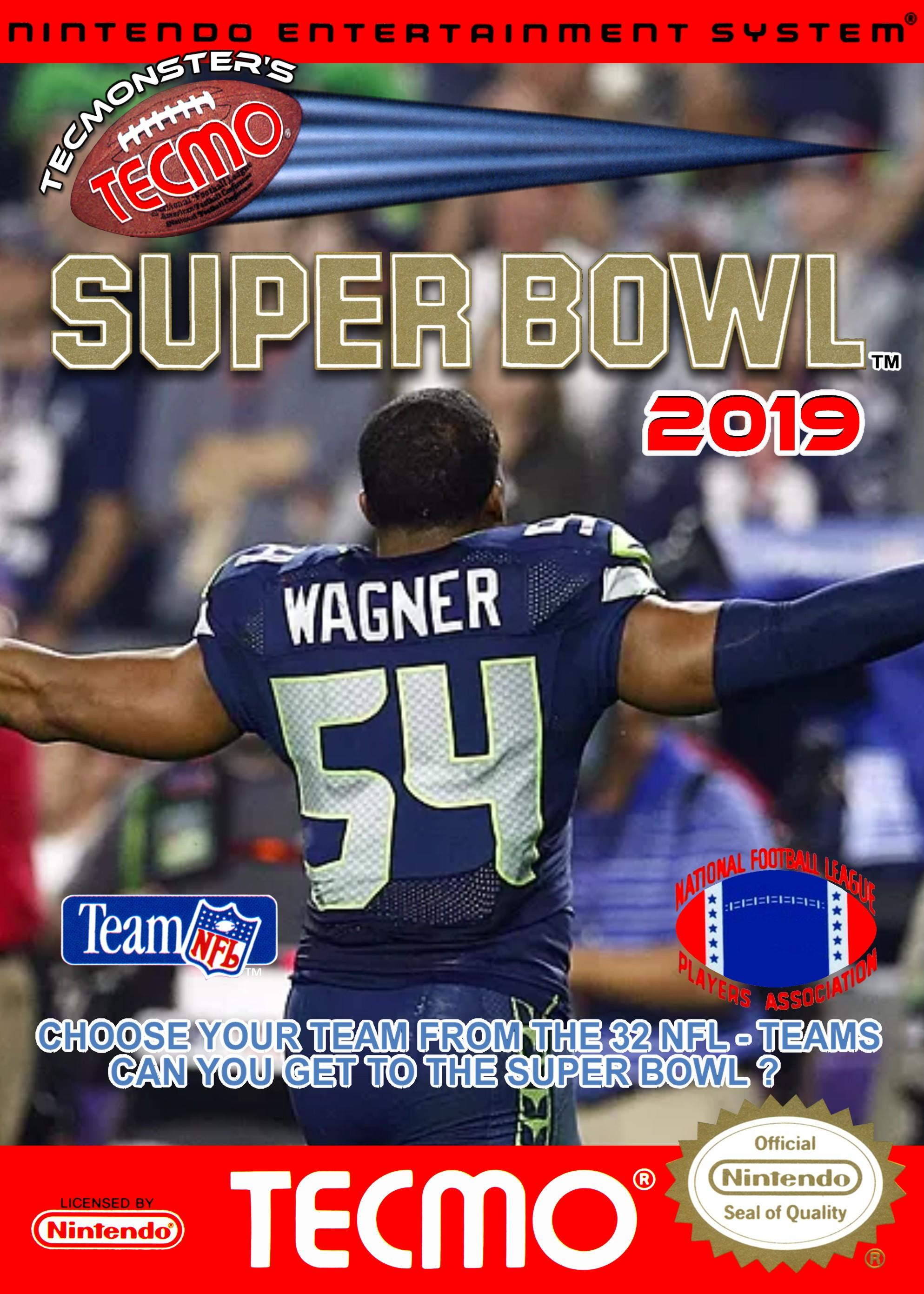 Tecmonster's Tecmo Super Bowl 2019 now available