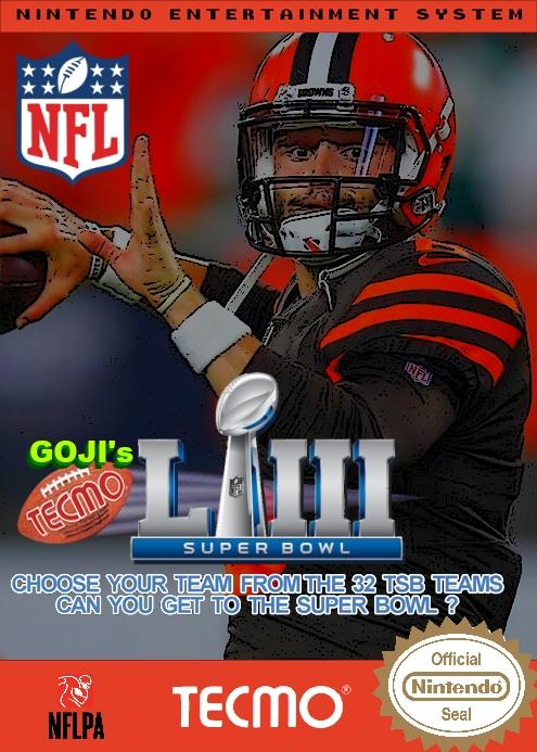 Goji's NFL Tecmo Super Bowl LIII (Week 3 Version 2)