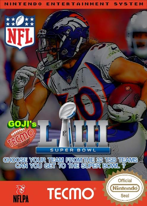 Goji's NFL Tecmo Super Bowl LIII (Week 7 Version 2)