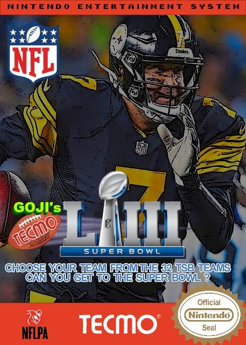 Goji's NFL Tecmo Super Bowl LIII (Week 10 Version 3)