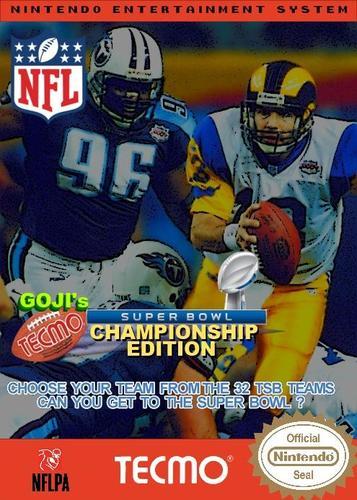 Goji's Tecmo Super Bowl NFL Championship Edition (5.0)