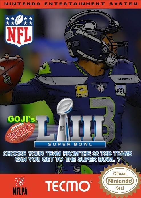 Goji's NFL Tecmo Super Bowl LIII (Week 11 Version 2)