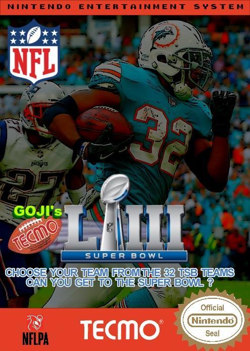 Goji's NFL Tecmo Super Bowl LIII (Week 15 Version 1)