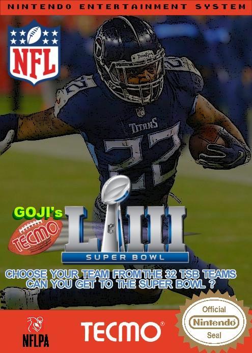 Goji's NFL Tecmo Super Bowl LIII (Week 14 Version 2)