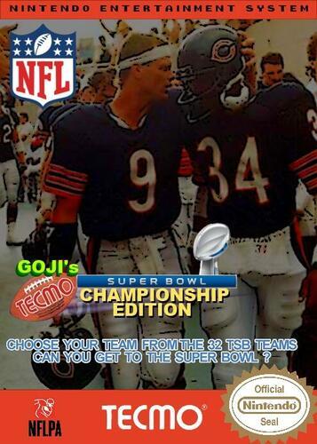 Goji's Tecmo Super Bowl NFL Championship Edition (5.1)