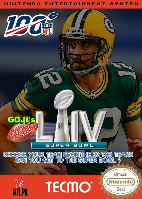 Goji's NFL Tecmo Super Bowl LIV (BETA 1.5)
