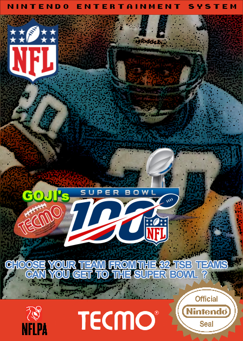 Goji's Tecmo Super Bowl #NFL100