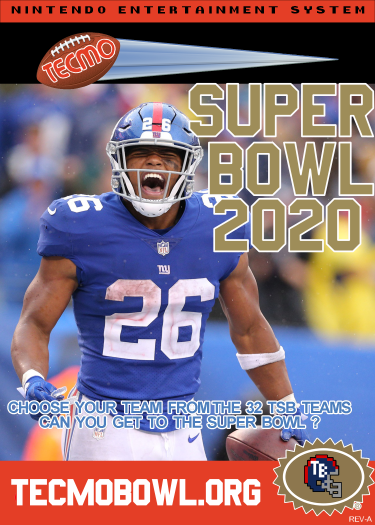 Tecmo Super Bowl 2020 Presented by TecmoBowl.org