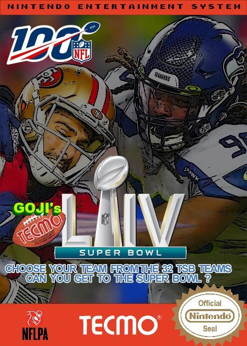 Goji's NFL Tecmo Super Bowl LIV (Week 11 Version 1)
