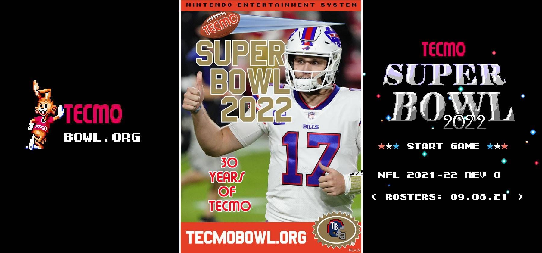 Tecmo Super Bowl 2022 Presented by TecmoBowl.org