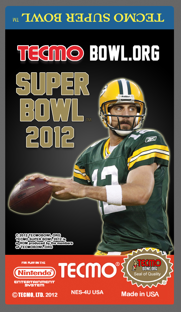 Tecmo Super Bowl 2012 Download Support Tecmobowl Org