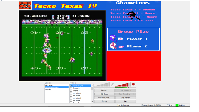 Tecmo Texas test stream pic.png