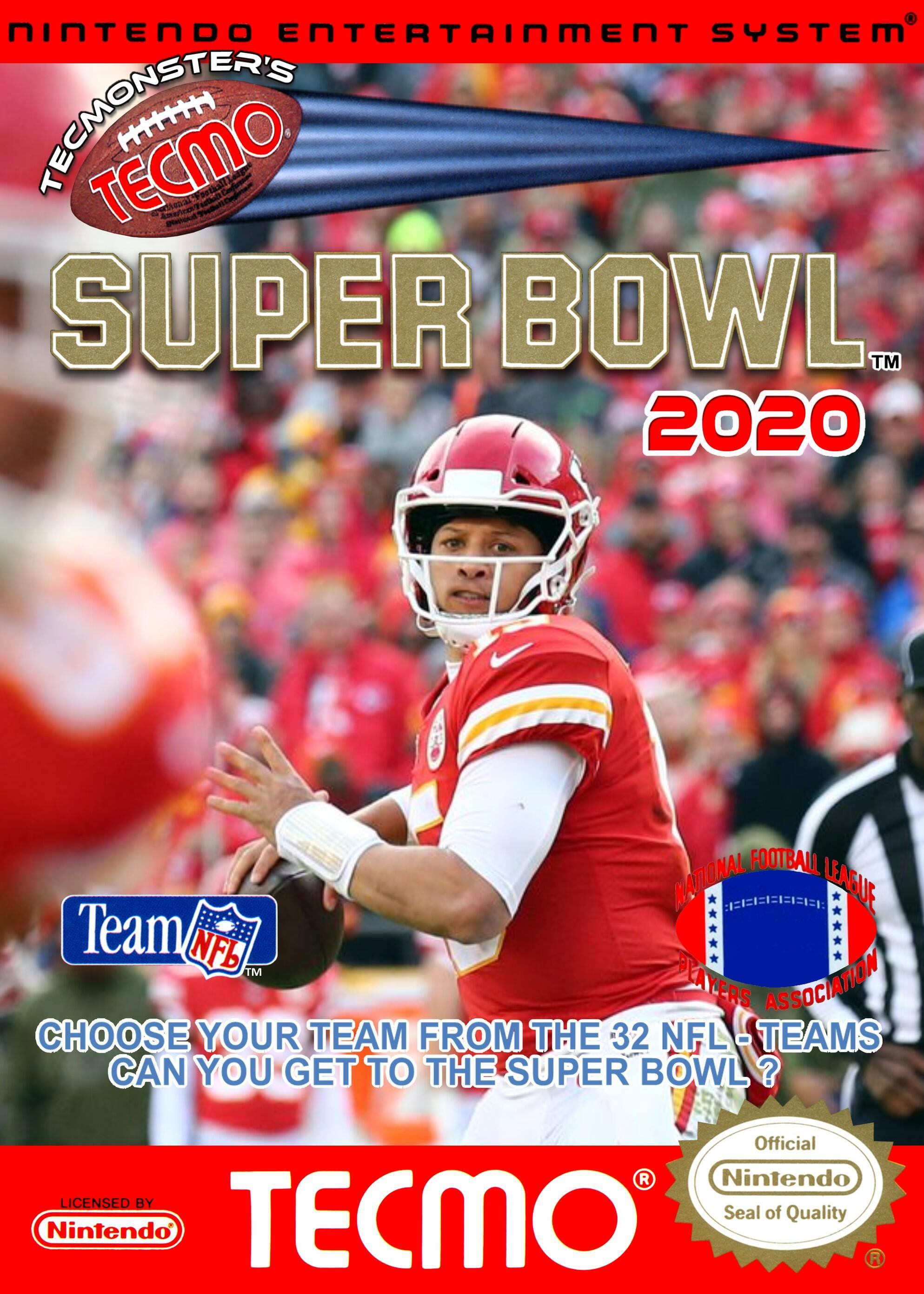 (NES) Tecmonster's Tecmo Super Bowl 2020