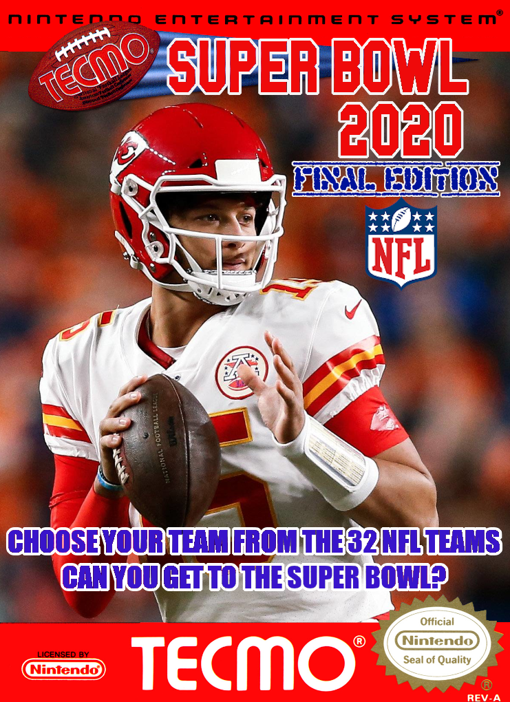 SBlueman's Tecmo Super Bowl 2020 - Final Edition