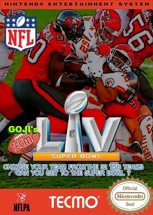 (NES) Goji's NFL Tecmo Super Bowl LV